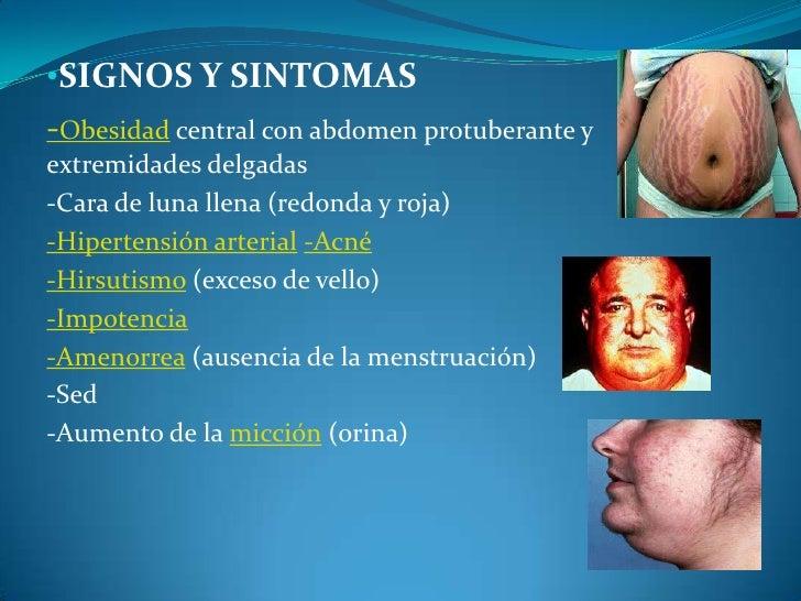 exceso de esteroides en el organismo