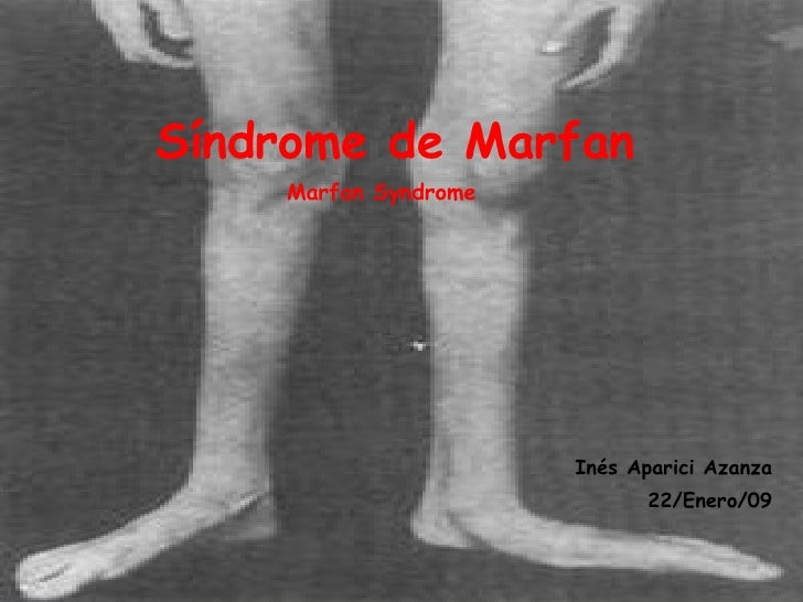marfain syndrome causes and effects