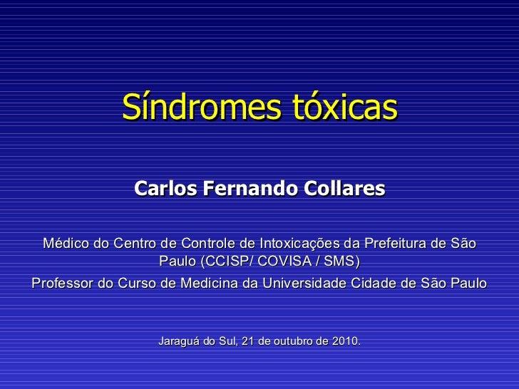 Síndromes tóxicas 2010 2 parte_1_extrapiramidal_neuroléptica_maligna_serotoninérgica