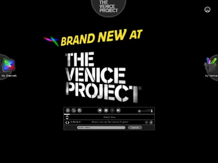 Sneak peek at The Venice Project
