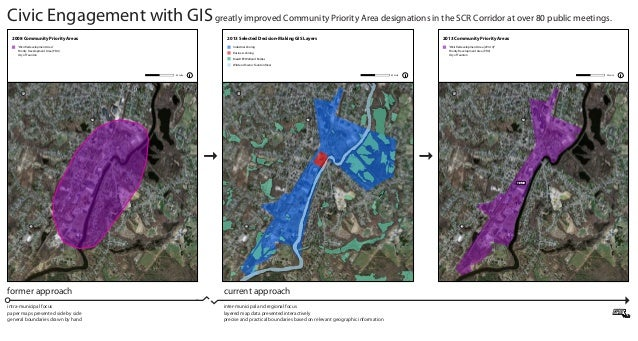 Civic Engagement with GIS greatly improved Community Priority Area designations in the SCR Corridor at over 80 public meet...