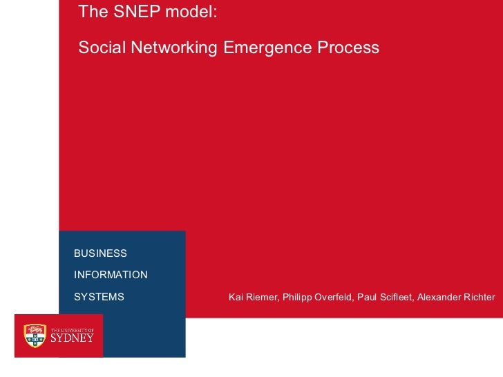 SNEP - Social Network Emergence Process
