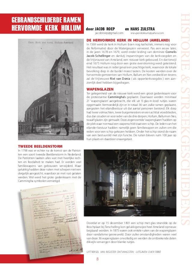 Sneuper 111 - De gebrandschilderde ramen van de hervormde kerk in Hollum