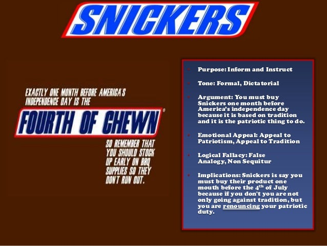 Snickers ad project