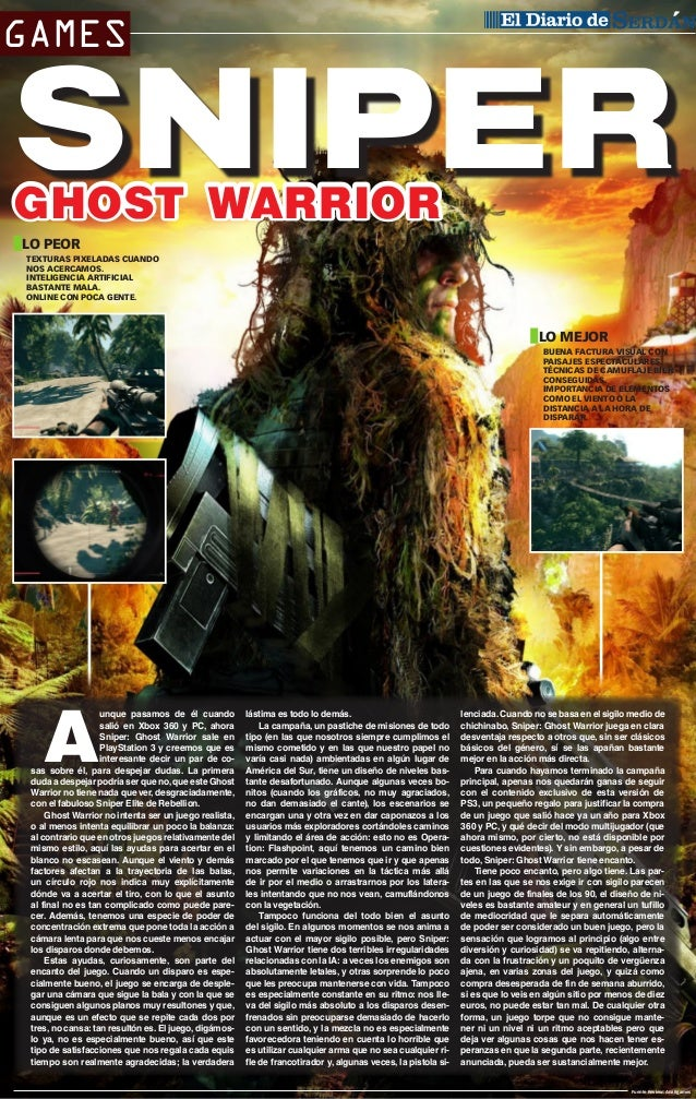 Sniper Ghost Warrior cover