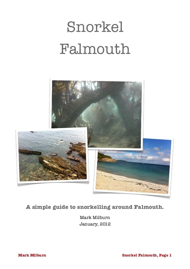 Snorkel               Falmouth                             A simple guide to snorkelling around Falmouth.                 ...