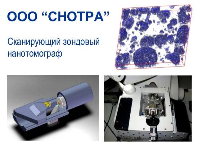 "OOO ""CHOTPA""Сканирующий зондовыйнанотомограф"