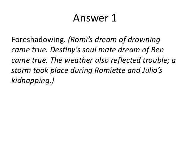 romiette and julio essay
