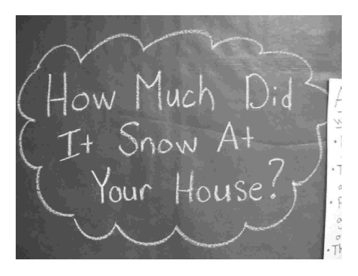 How Much Snow?