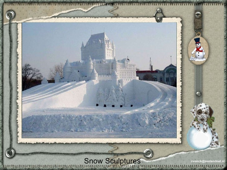[email_address] Snow Sculptures