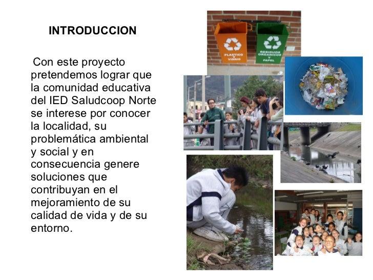 Proyecto Ambiental Escolar