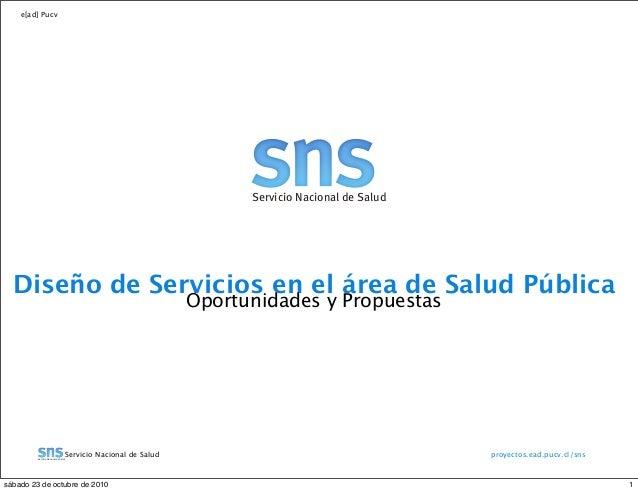 Plataforma Web para el Servicio Nacional de Salud de Chile