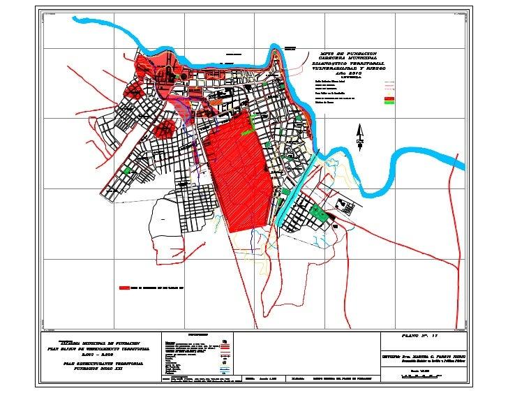 Mapa de Inundaciones cabecera Fundacion