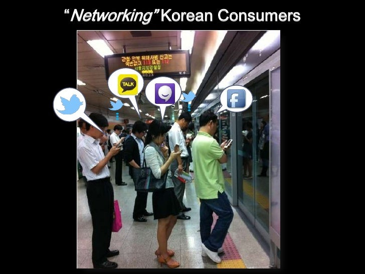 """Networking"" Korean Consumers<br />"