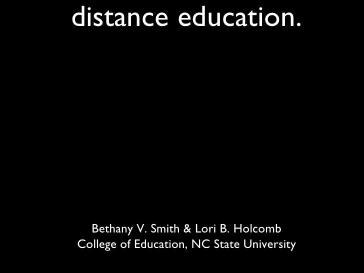 """The """"Walled Garden"""" approach to Social Networking:  Utilizing Ning in distance education. <ul><li>Bethany V. Smith & Lori ..."""