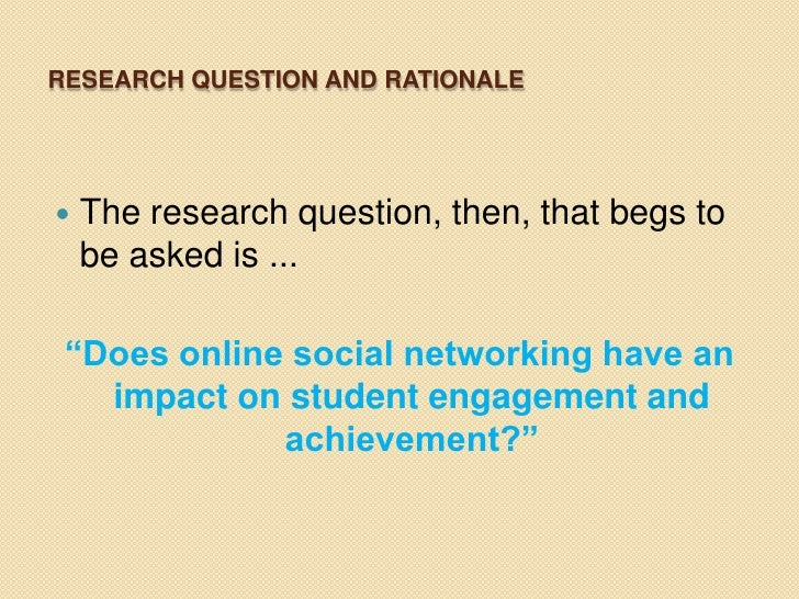 Persuasive Essay Help!! Concerning the impact of social networks on students and their school performance?