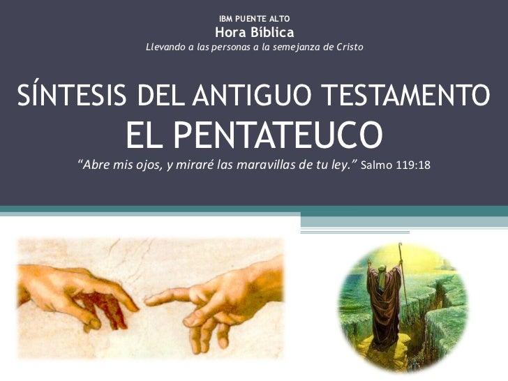 Síntesis del antiguo testamento - Pentateuco 3