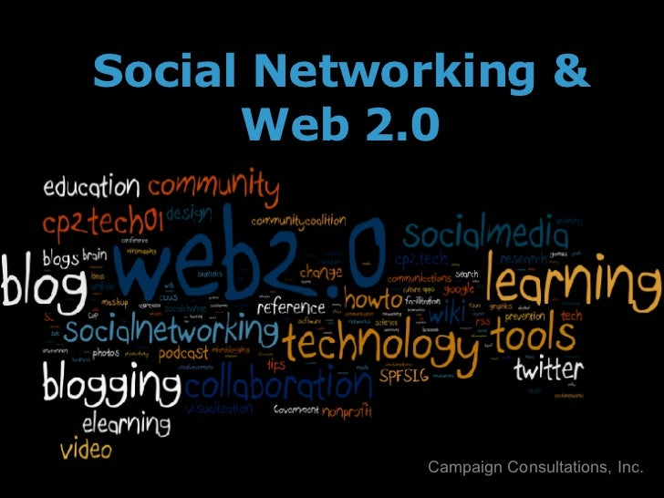 Social Networking & Web 2.0 Campaign Consultations, Inc.