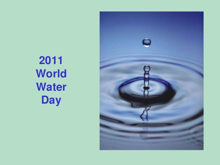 2011WorldWaterDay<br />