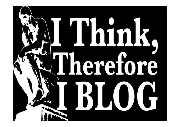So you've got a blog!