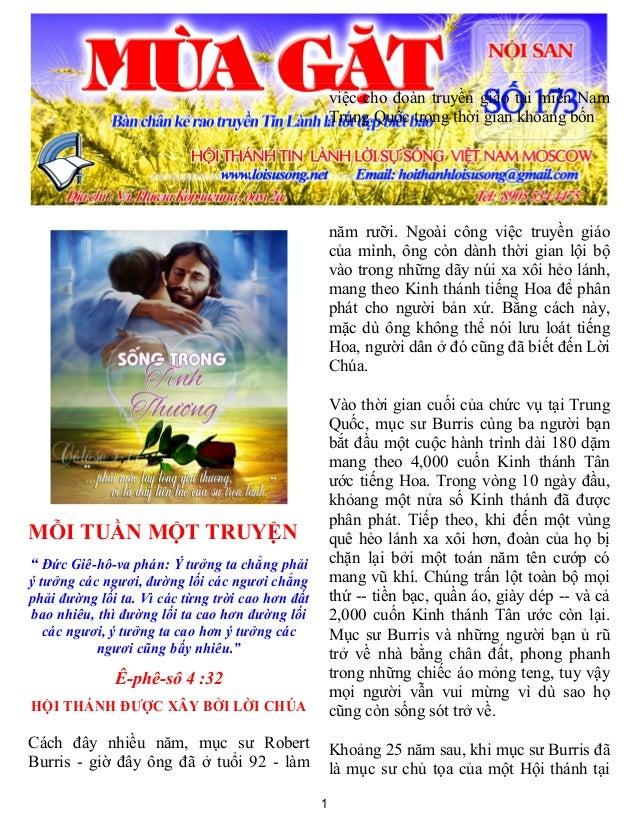 """1MỖI TUẦN MỘT TRUYỆN"""" Đức Giê-hô-va phán: Ý tưởng ta chẳng phảiý tưởng các ngươi, đường lối các ngươi chẳngphải đường lối ..."""