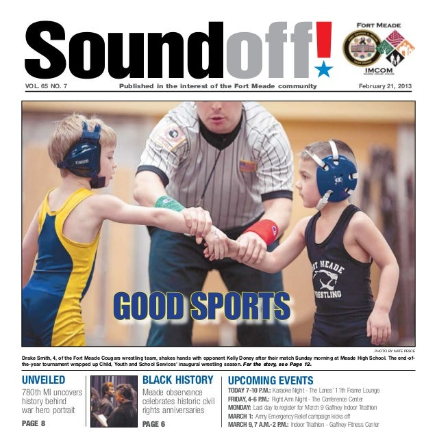 Soundoff! vol. 65 no. 7                         Published in the interest of the Fort Meade community                   ...