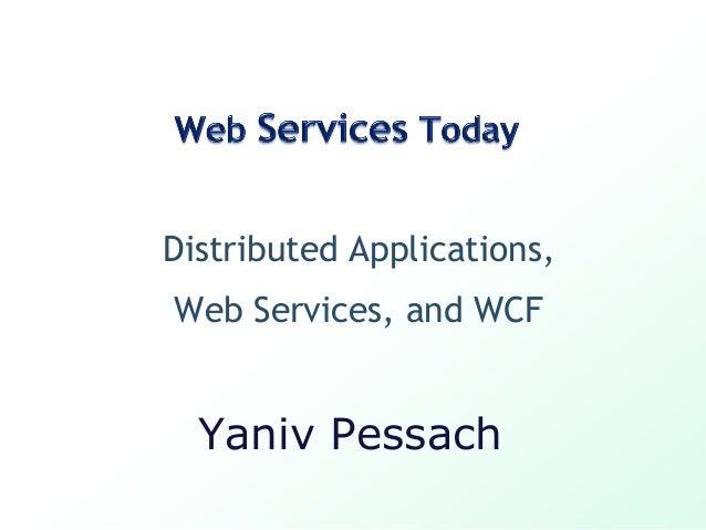 SOA and WCF (Windows Communication Foundation) basics