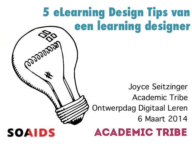 5 eLearning Tips van een Learning Designer #dlw2014