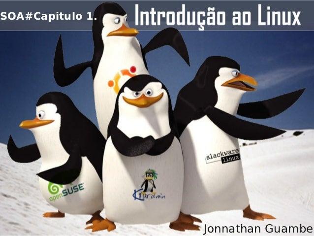 Soa cap1 introducao a linux