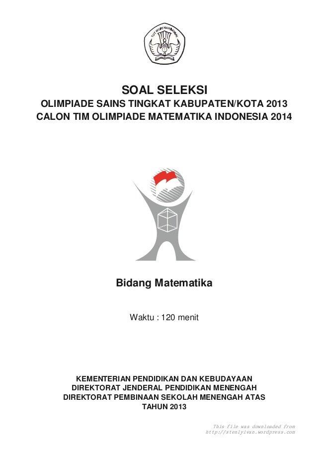 Download Soal Olimpiade Matematika Newhairstylesformen2014 Com