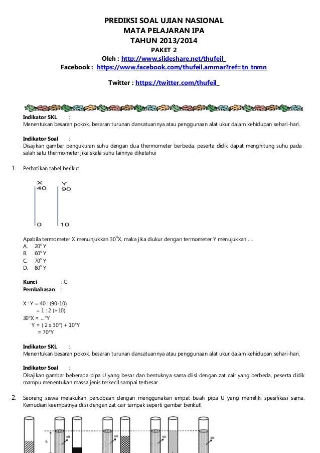 Latihan Soal Un Smpmts Ujian Nasional Download Lengkap