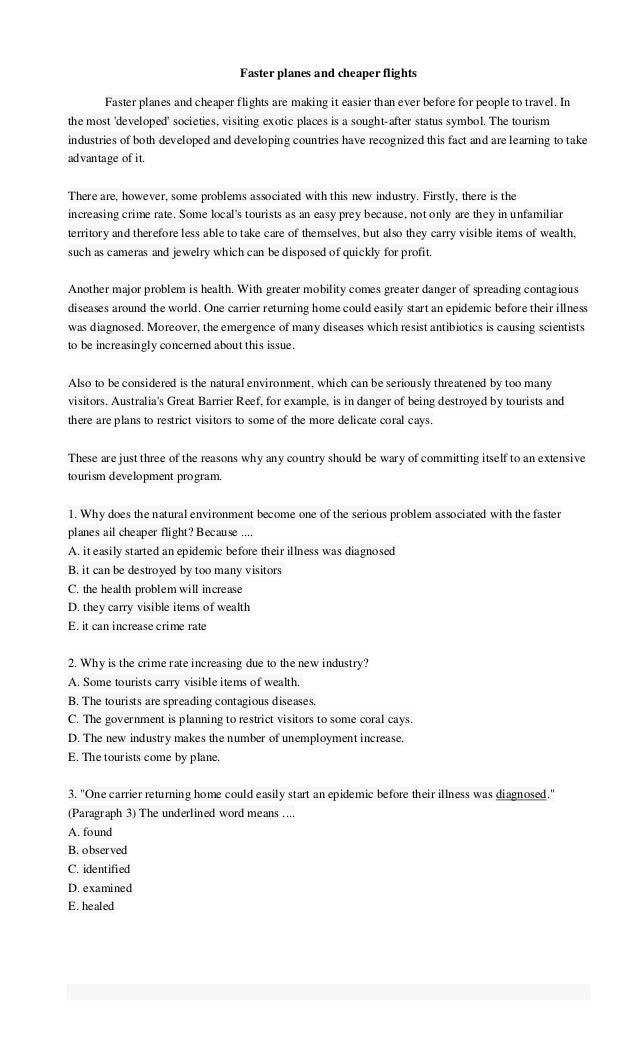 Soal Reading Bahasa Inggris Sma Dan Jawabannya Latihan Soal Bahasa Inggris Kelas X Sma Dan