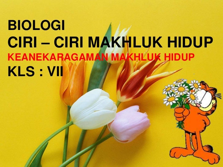 Soal Un 2012 No 23 Biologi Ciri Ciri Makhluk Hidup