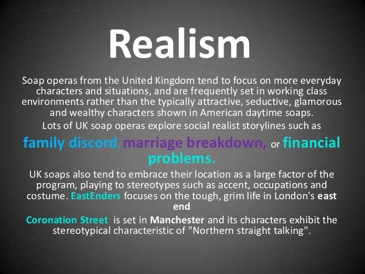 Soap realism presentation