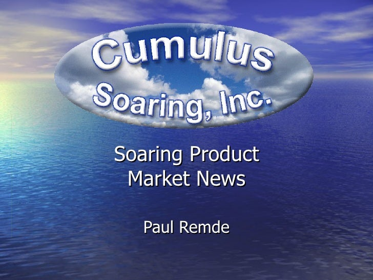 Soaring Product Market News Paul Remde