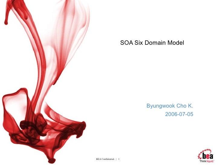 SOA Six Domain Model Byungwook Cho K. 2006-07-05