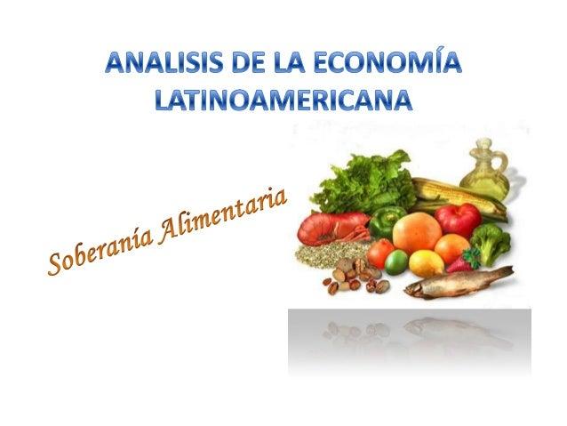Es la facultad de cada Estado para definir sus propias políticas agrarias y alimentarias.  Introducido con mayor relevanci...