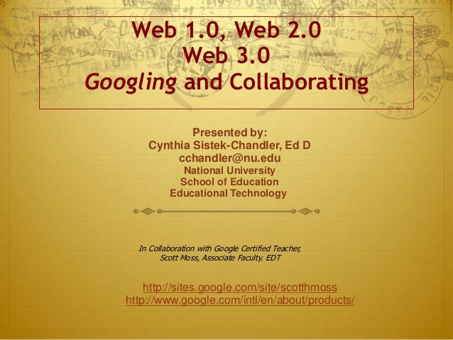 Web 2.0 Applications in Business and Ed
