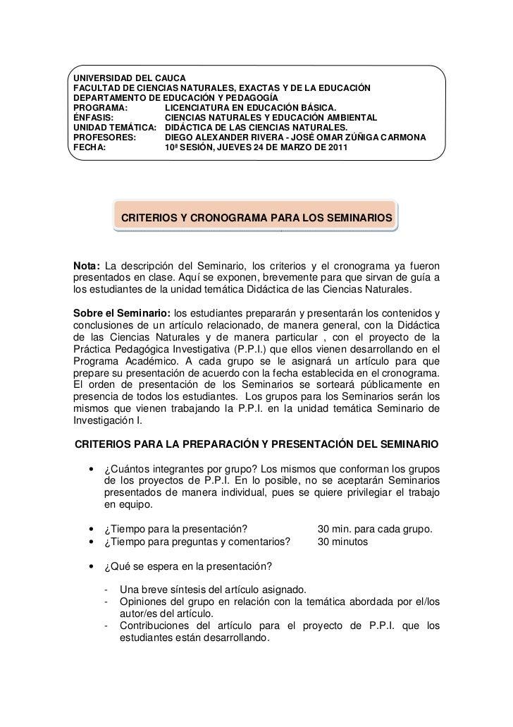 UNIVERSIDAD DEL CAUCAFACULTAD DE CIENCIAS NATURALES, EXACTAS Y DE LA EDUCACIÓNDEPARTAMENTO DE EDUCACIÓN Y PEDAGOGÍAPROGRAM...