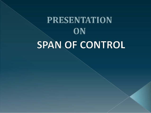Span of Control (Management)