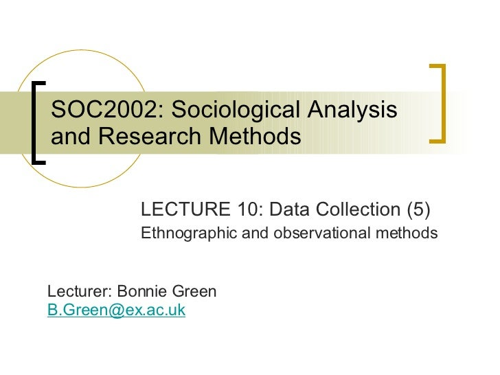 SOC2002 Lecture 10