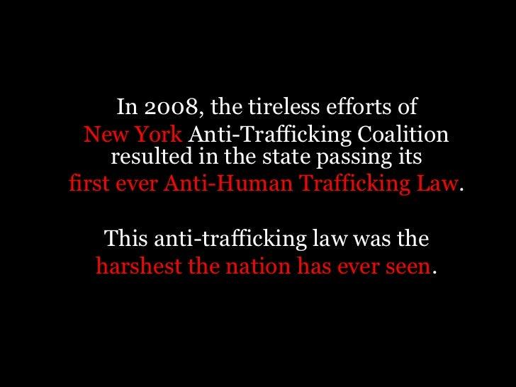 persuasive speech on human trafficking essay