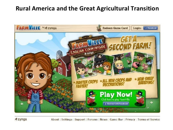 Rural America and the Great Agricultural Transition
