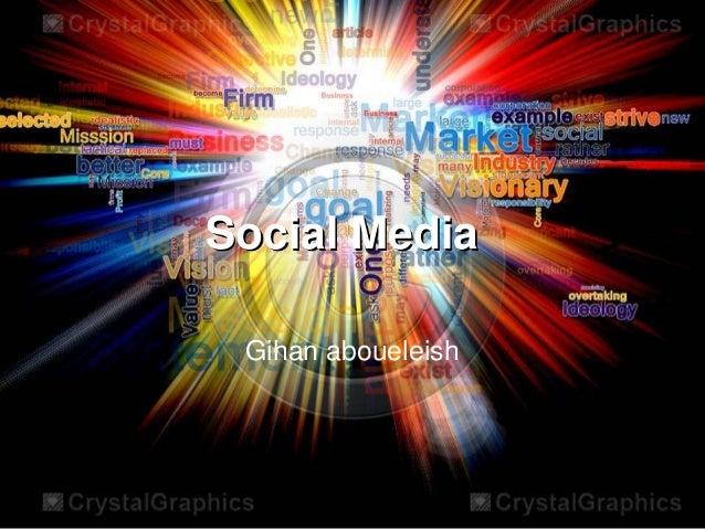 Socail media presentation