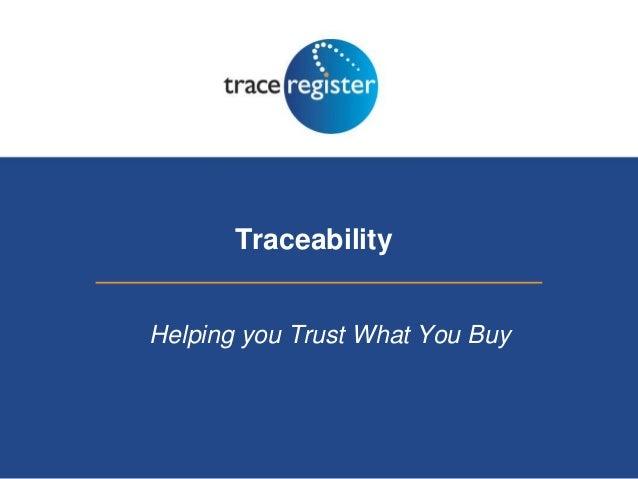 SOCAP10: Andy Furner, Trace Register