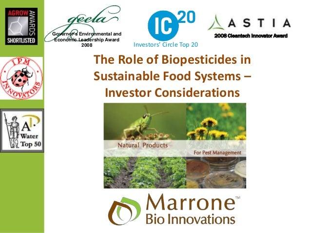 Governor's Environmental and Economic Leadership Award 2008 2008 Cleantech Innovator Award Investors' Circle Top 20 The Ro...