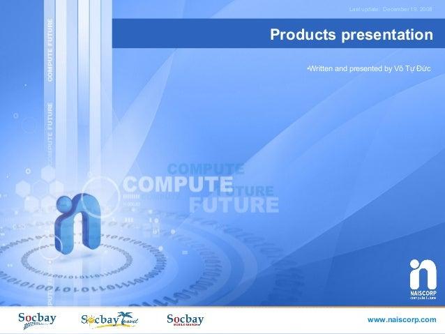 Socbay Imedia   A presentation created on 2008