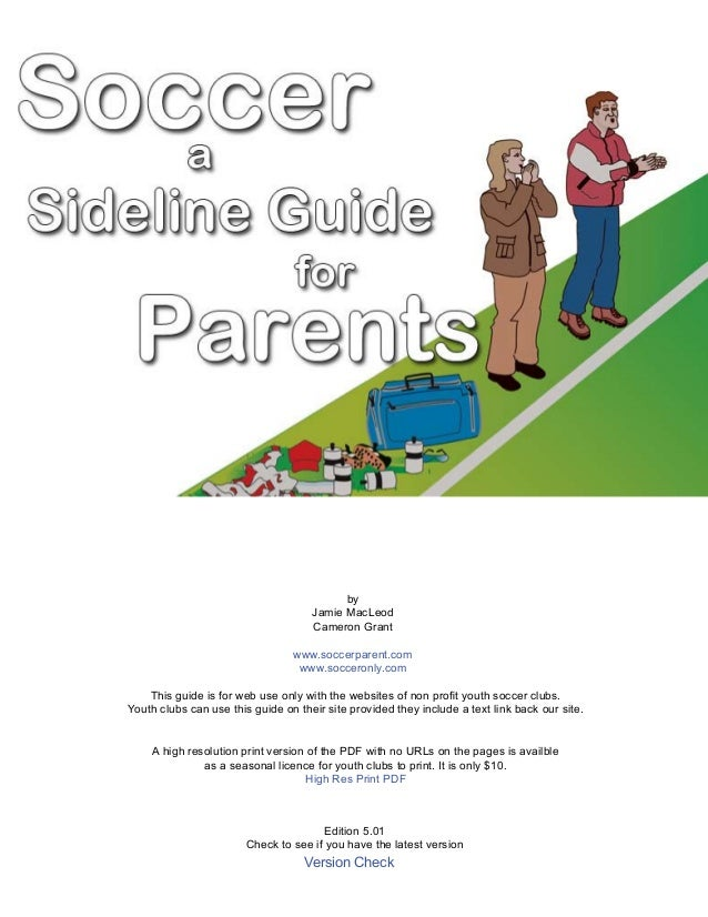 Soccer a  guide for parents- by Joseph Caramagno