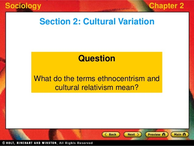 how does ethnocentricity distort one s view of other cultures Characterized by or based on the attitude that one's so ethnocentricity shows itself in a lack of respect for other ways of life, and an ethnocentric person.