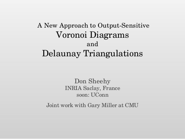 A New Approach to Output-Sensitive Voronoi Diagrams and Delaunay Triangulations